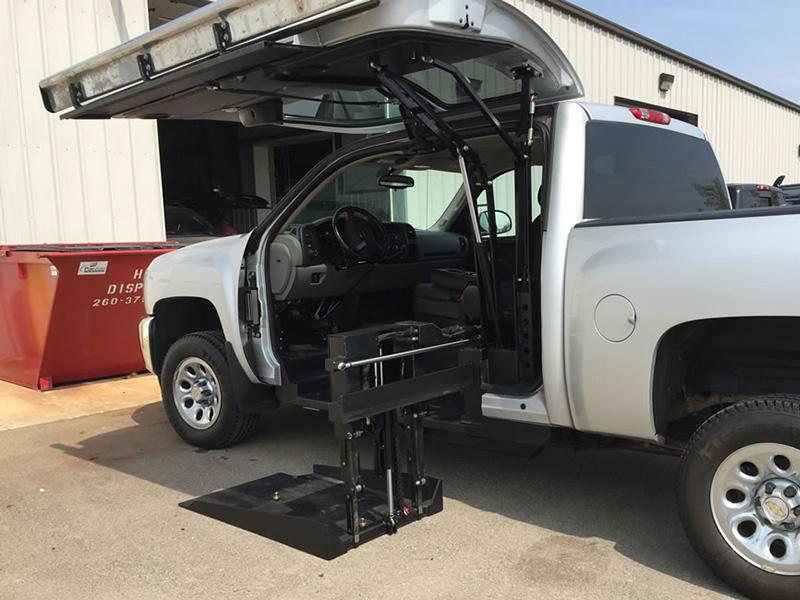 All Terrain Conversions Wheelchair Lift