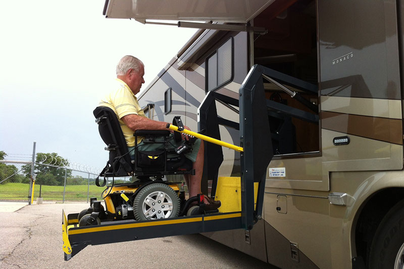 Elegant Motorhome With A Wheelchair Lift NMEDA   Special Stuff   Pi